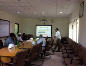 Presentation at ICI Soda Ash Plant Khewra (CC-88)