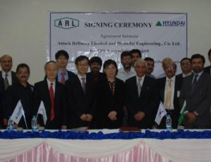 Attock Refinery Up-gradation Project 2013 (Contract Signing Ceremony)