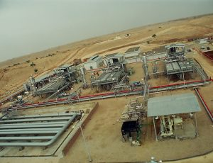 Pirkoh Gas Field Compression Project (Ariel View)