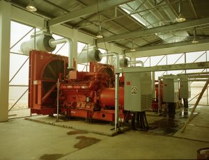 Pirkoh Gas Field Compression Project (Generator Room)